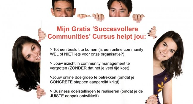 Audiocursus Succesvollere Communities